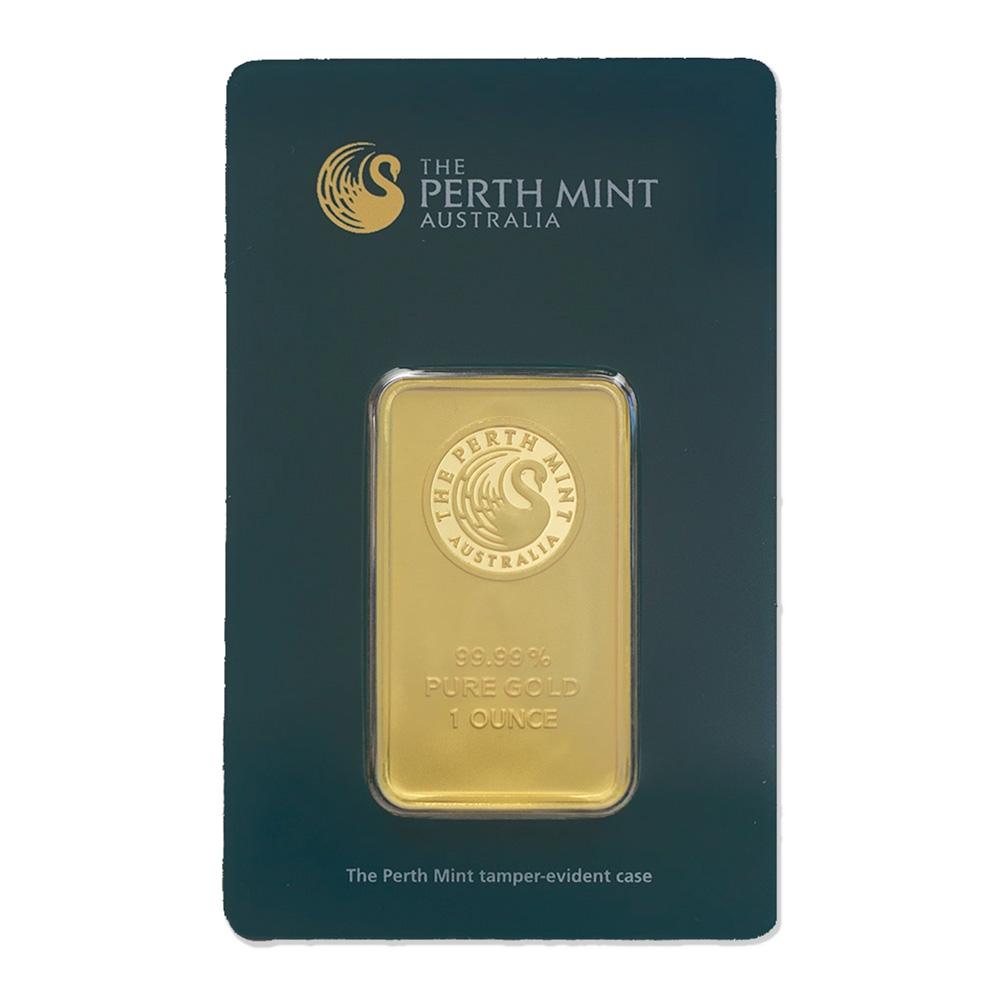 Buy 1 oz Perth Mint Gold Bars