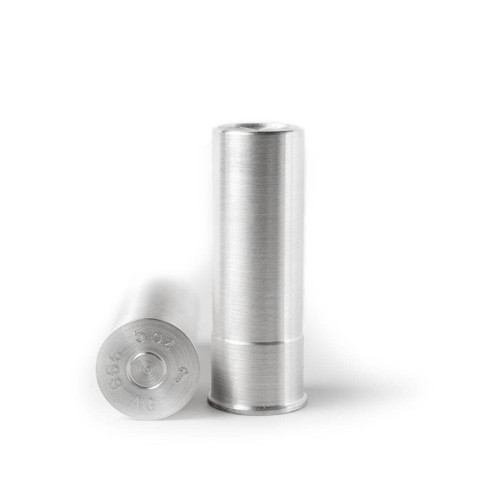 Silver Ammo 12 Gauge Shotgun Shell