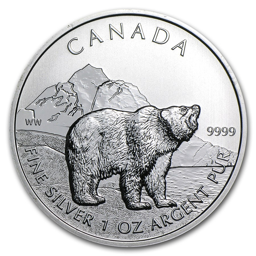 Canadian Wildlife Series - Silver Grizzly