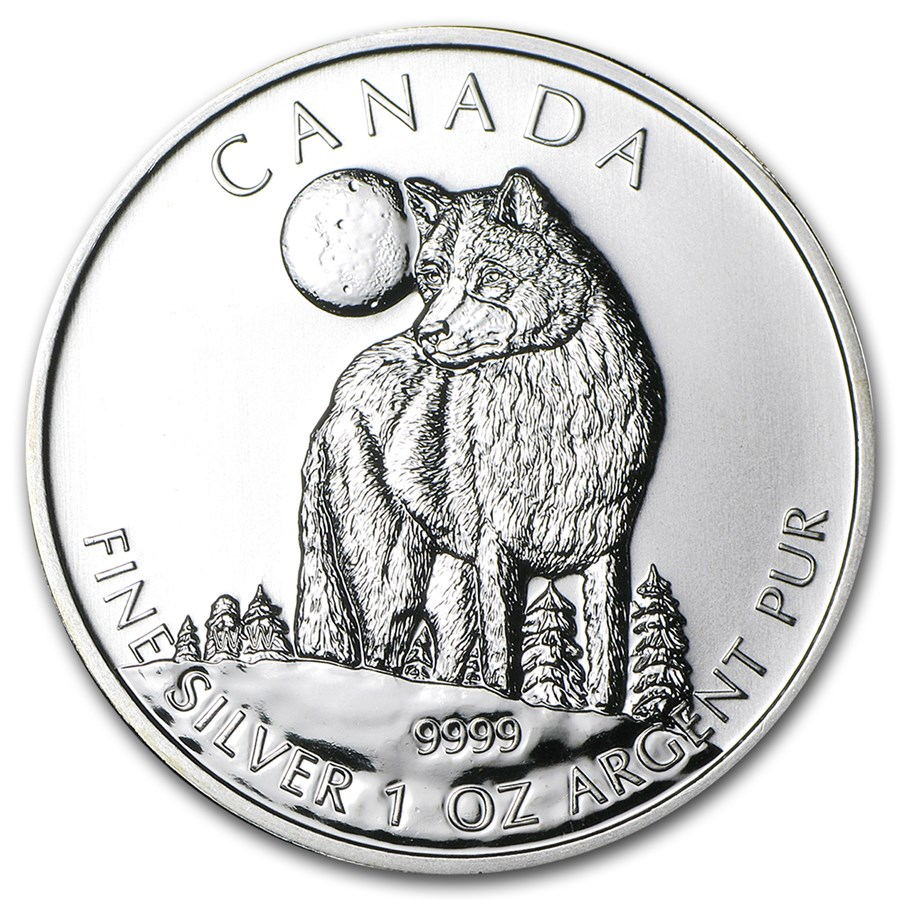 Canadian Silver Wolf