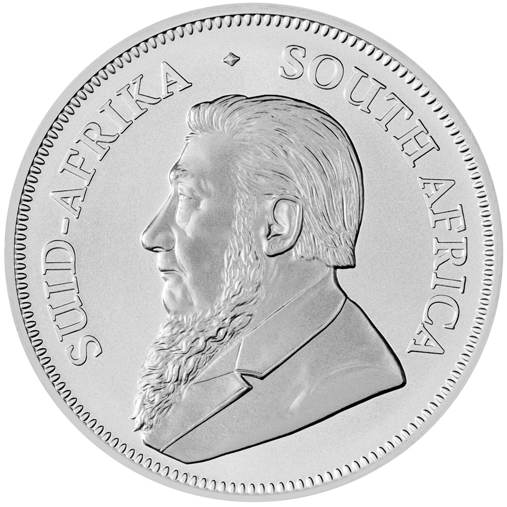 South African Silver Krugerrand Obverse