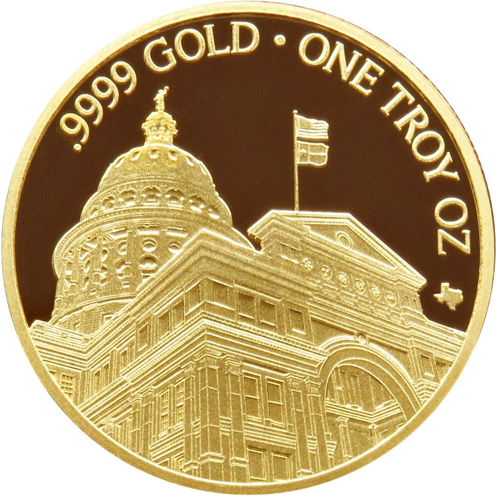 Buy 2021 Texas Gold Round - Obverse