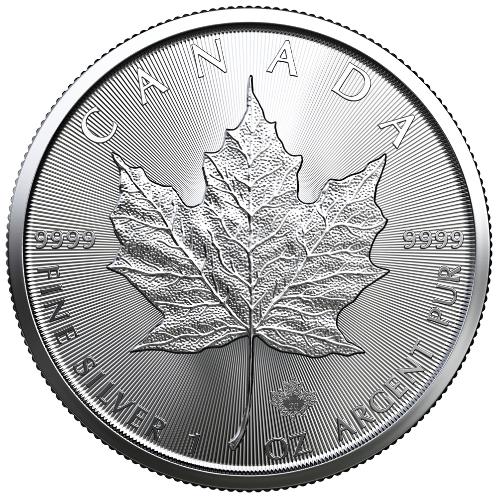 Buy 2021 Canadian Silver Maple Leaf Coin