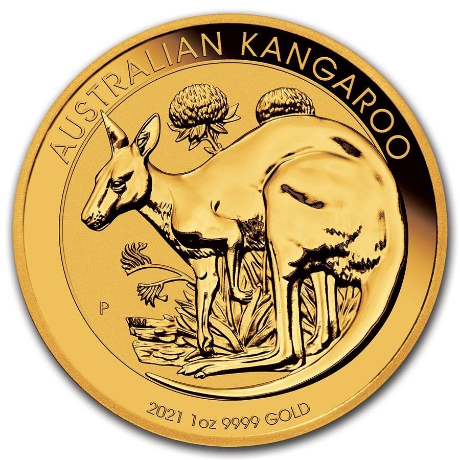 Buy 2021 Australian Gold Kangaroos