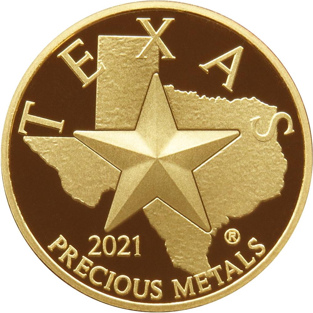 Buy 2021 Texas Gold Round *Box of 10*