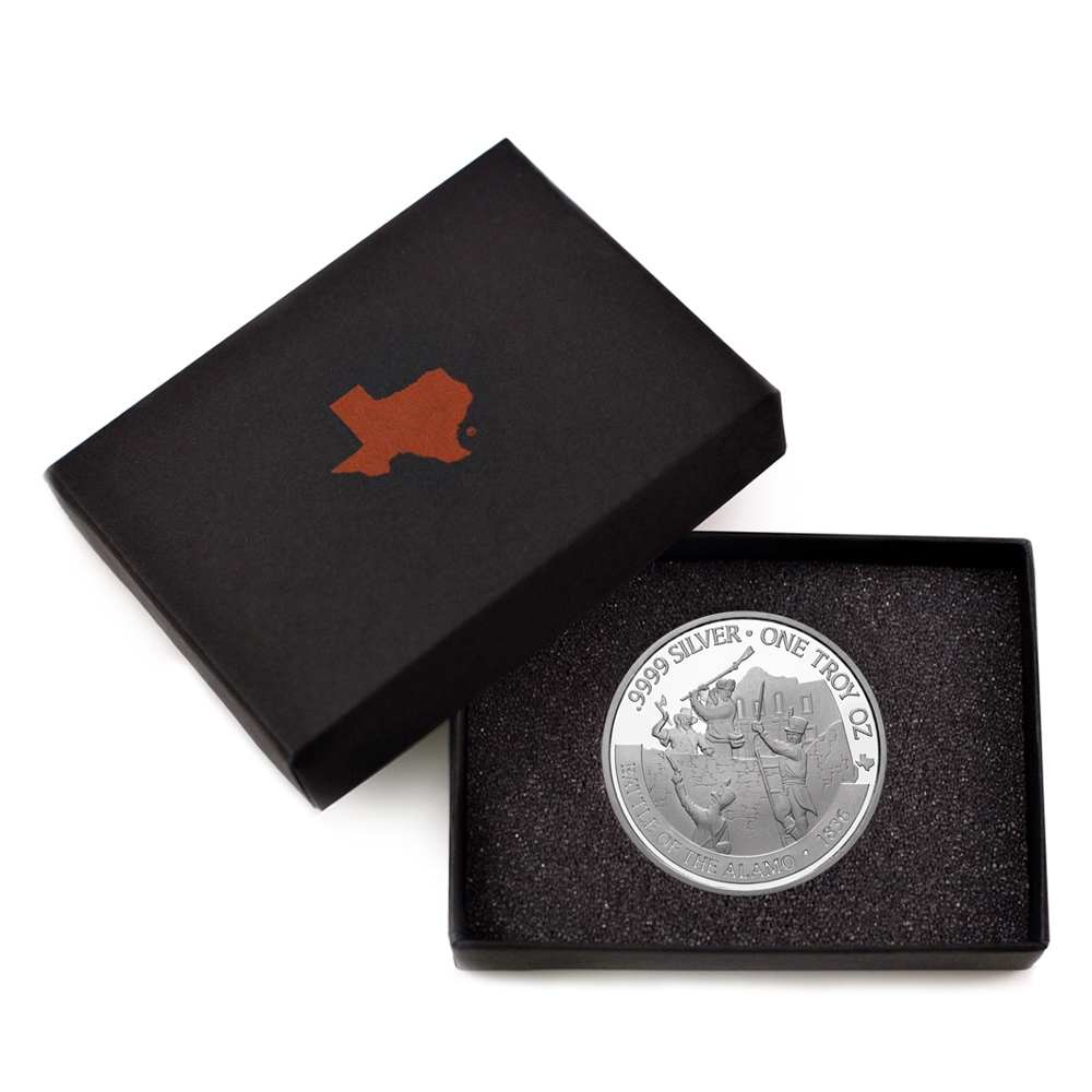 Buy 2021 Texas Silver Round with Custom Box
