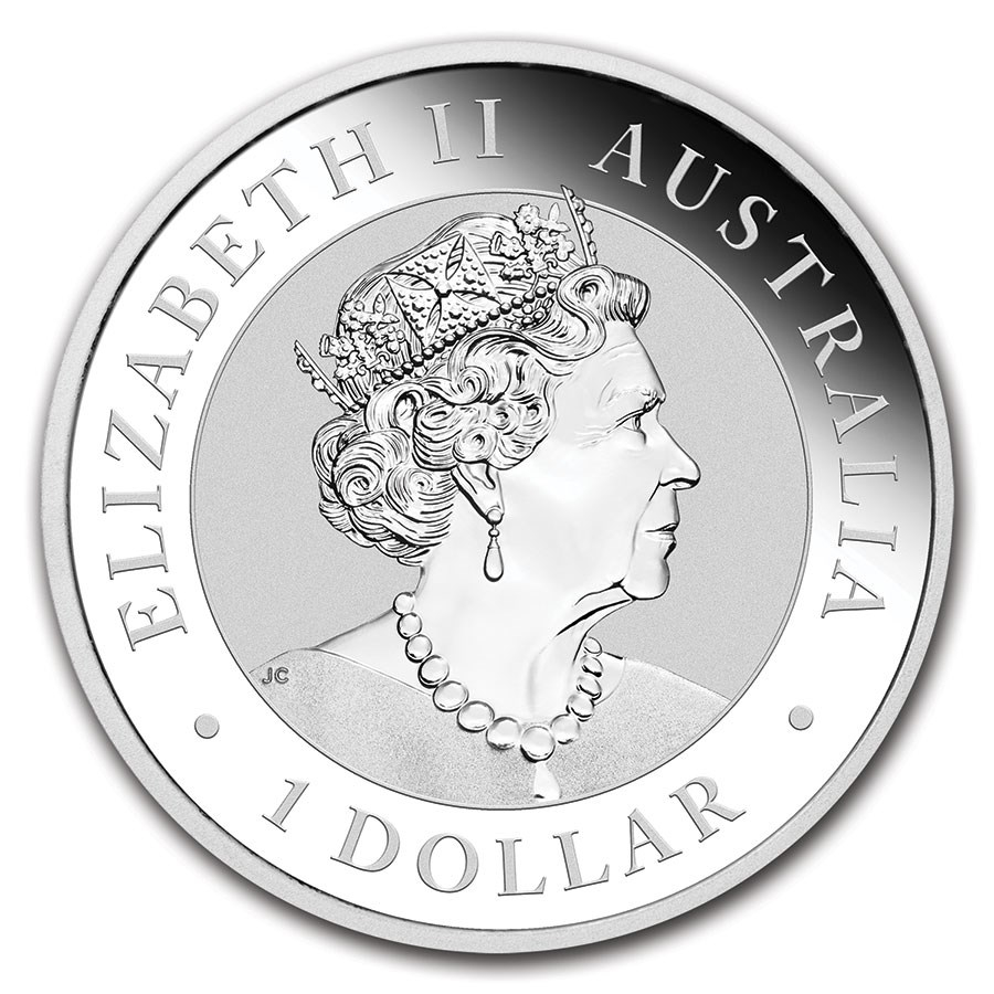 1 oz Australian Perth Mint Silver Kookaburras (Any Year)