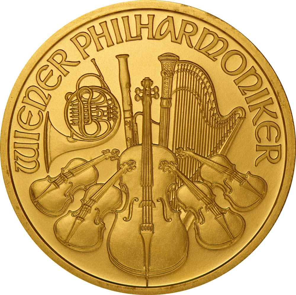 2021 Austrian Gold Philharmonic Coin