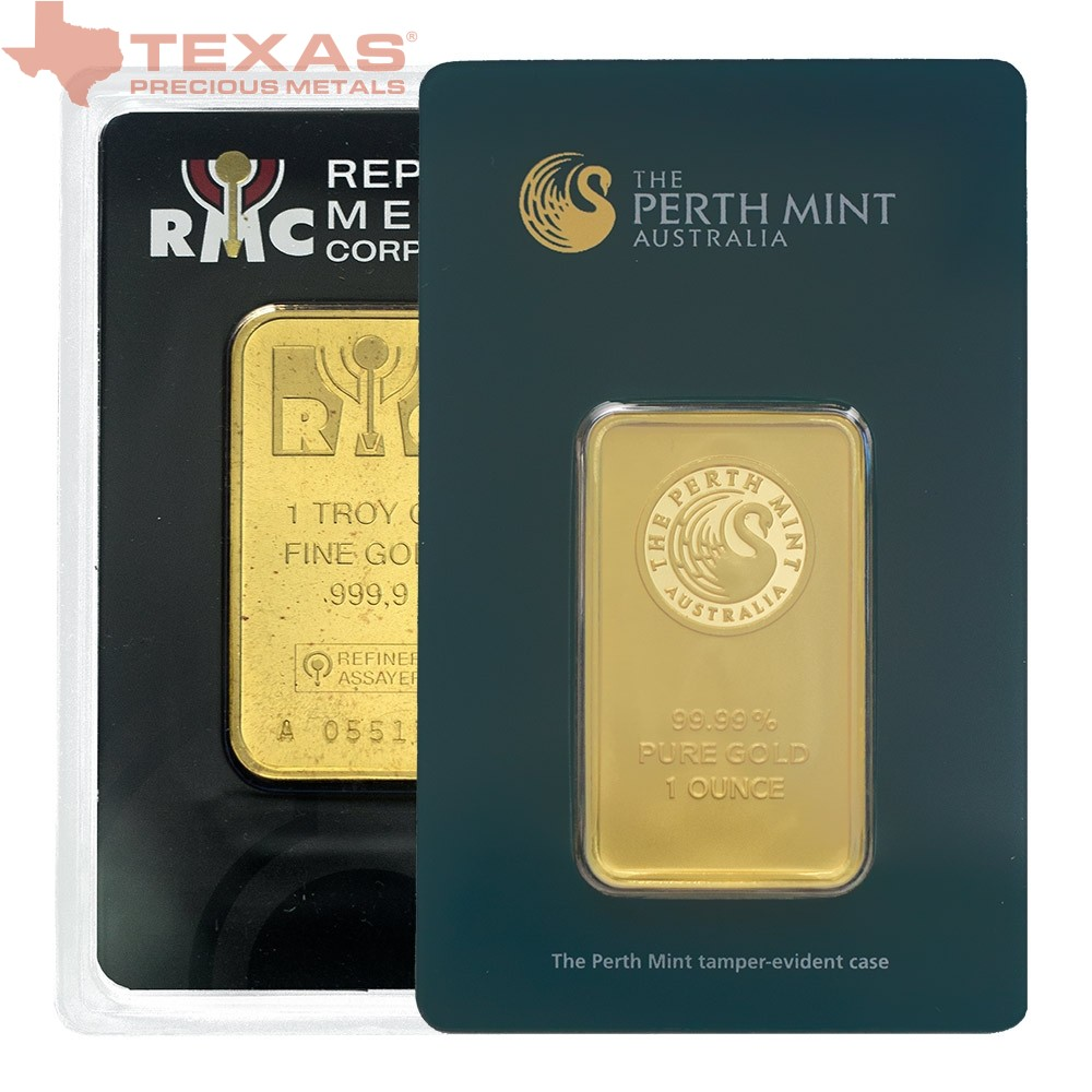1 Oz Gold Bar Mint Of Our Choice