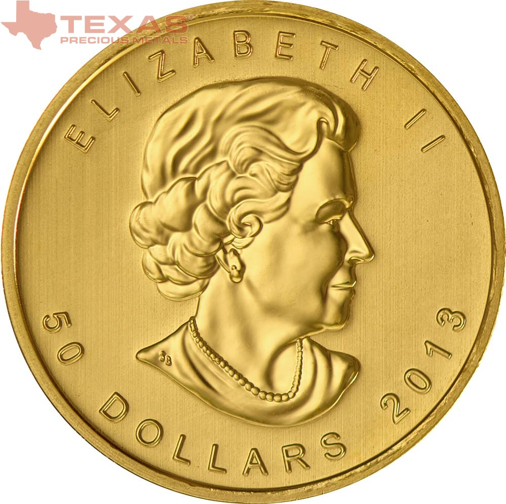 Canadian Maple Leaf Gold Coin Any Year Texas Precious
