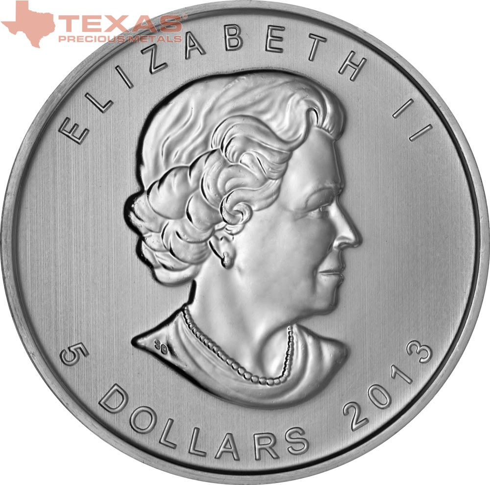 Canadian Maple Leaf Silver Coin Any Year Texas