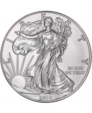 2019 American Silver Eagle with Custom Box