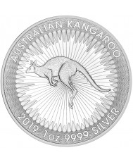 2019 Perth Mint Silver Kangaroo *Tube of 25*