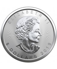 2019 Canadian Silver Maple Leaf Coin *Tube of 25*
