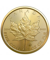2020 Canadian Maple Leaf Gold Coin *Tube of 10*