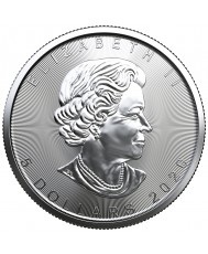 2020 Canadian Silver Maple Leaf Coin *Tube of 25*