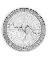 2020 Perth Mint Silver Kangaroo Mini-Monster Box (SEALED)