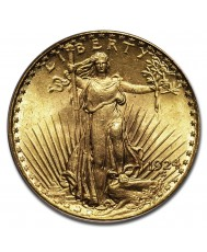 $20 Saint-Gaudens Gold Double Eagle - MS-65 PCGS/NGC (Dates Our Choice)