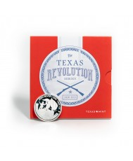 2020 Texas Silver Round with Revolution Series Booklet