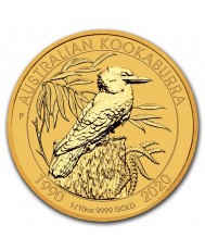 1/10 oz Australian Gold Kookaburra (Any Year)