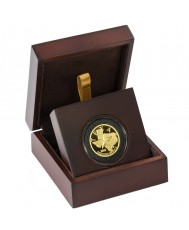 2020 Texas Gold Round with Wooden Display Case