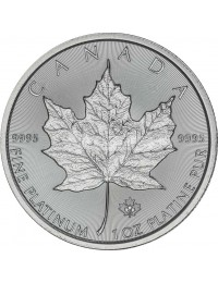 Canadian Maple Leaf Platinum Coin (Any Year)