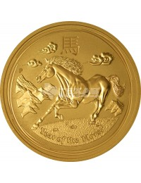 2014 Year of the Horse - Lunar Series II - 1/2 oz Gold