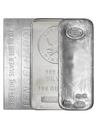100 oz Silver Bar (Varied Condition - Mint of Our Choice)