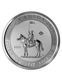 Royal Canadian Mounted Police 2 oz Coin
