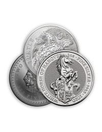 2 oz Silver Coin / Round (Varied Condition - Mint of Our Choice)
