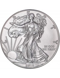 2018 American Silver Eagle with Custom Box
