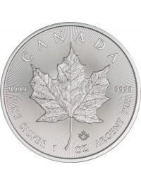 2018 Canadian Silver Maple Leaf Coin