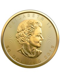 2019 Canadian Maple Leaf Gold Coin *Tube of 10*