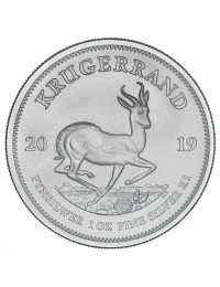 2019 South African Silver Krugerrand Coin