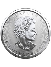 2019 Canadian Silver Maple Leaf Coin