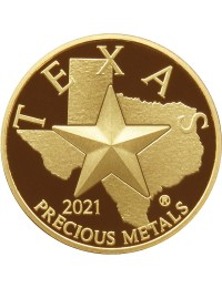 2021 Texas Gold Round *Box of 10* (SEALED)
