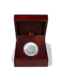 2021 Texas Silver Round with Wooden Display Case *Texas Edition*