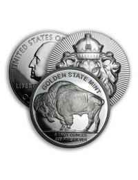 5 oz Silver Coin / Round (Varied Condition - Mint of Our Choice)