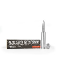 .50 Caliber Pure Silver Bullet Bullion (10 oz)
