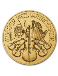 1/4 oz Austrian Gold Philharmonic Coin (Any Year)