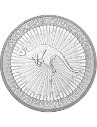2018 Perth Mint Silver Kangaroo Mini-Monster Box (SEALED)