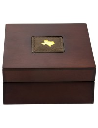 2020 Texas Gold Round with Wooden Display Case *Texas Edition*
