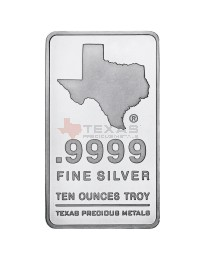 10 oz Texas Silver Bar