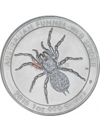 2015 Perth Mint Silver Funnel-Web Spider Monster Box (SEALED)
