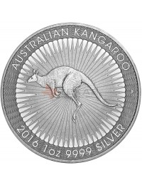 2016 Perth Mint Silver Kangaroo Mini-Monster Box (SEALED)