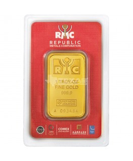 1 oz Republic Metals Gold Bars