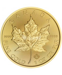2017 Canadian Maple Leaf Gold Coin