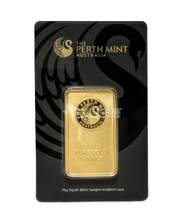 1 oz Perth Mint Gold Bars