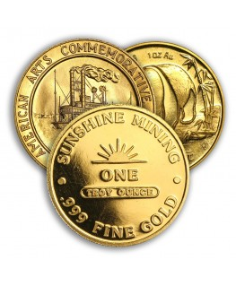 1 oz Gold Coin / Round (Varied Condition - Mint of Our Choice)