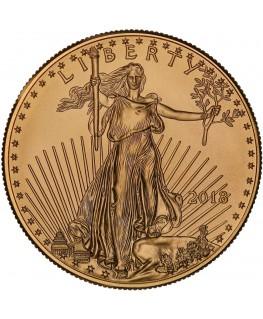 2018 American Gold Eagle Coin